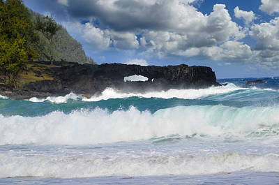 Photograph - Hawaii Coastline by Bonnie Fink