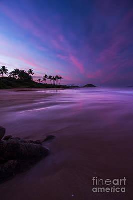 Dark Sky Photograph - Hawaii First Light Sunrise by Dustin K Ryan