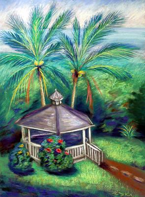 Island .oasis Painting - Hawaii Hideaway by Karin  Leonard