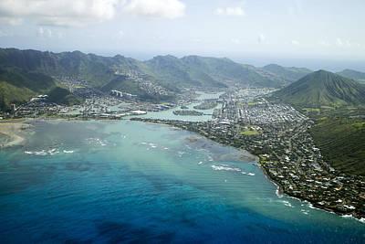 Hawaii Kai Aerial Art Print
