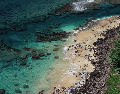 Hawaii, Kauai, Haena State Park, A View Art Print by Christopher Talbot Frank