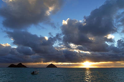 Photograph - Hawaii Sunrise by Dustin  LeFevre