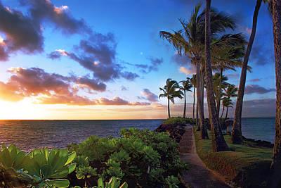 Photograph - Hawaii Sunset by Dave Dilli