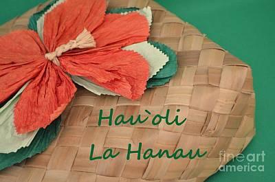 Airplane Paintings - Hawaiian Birthday Box by Mary Deal