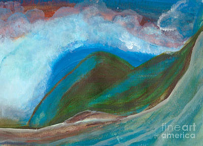 Painting - Hawaiian Breeze by Heather  Hiland