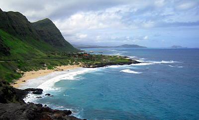 Hawaiian Coastline Art Print