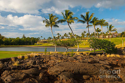 Sports Royalty-Free and Rights-Managed Images - Hawaiian golf by Paul Quinn