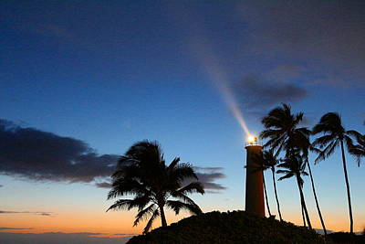 Photograph - Hawaiian Lighthouse by Greg Simmons