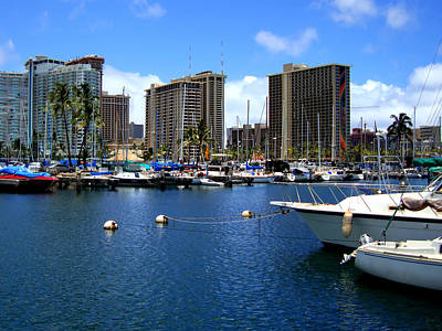 Photograph - Hawaiian Marina by Kara  Stewart
