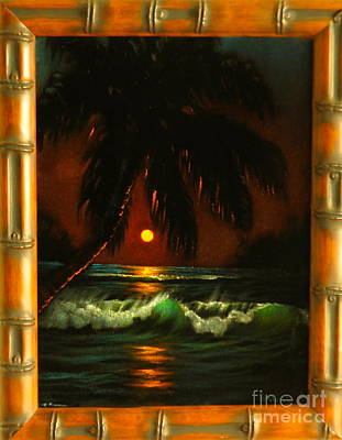 Painting - Hawaiian Painting By Sands by Phyllis Kaltenbach