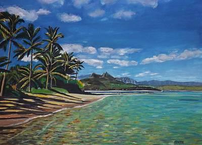 Hawaiian Paradise Art Print by Richard Nowak