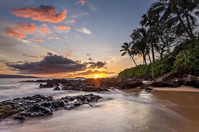 Photograph - Hawaiian Paradise Sunset by Pierre Leclerc Photography