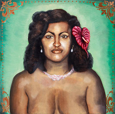 Painting - Hawaiian Princess by Mani Price