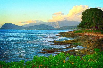 Digital Art - Hawaiian Retreat by Kara  Stewart