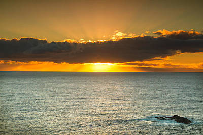 Photograph - Hawaiian Sunrise by Kunal Mehra