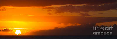 Photograph - Hawaiian Sunset by Anthony Bonafede