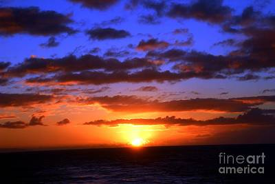 Photograph - Hawaiian Sunset by Elizabeth Winter