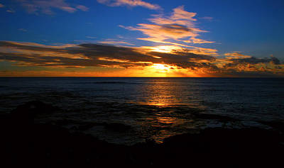 Photograph - Hawaiian Sunset by Kara  Stewart