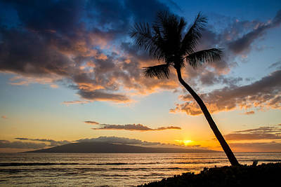 Coconut Photograph - Hawaiian Sunset by Pierre Leclerc Photography