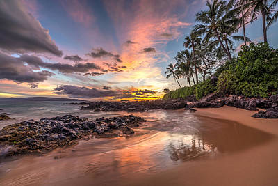 Photograph - Hawaiian Sunset Wonder by Pierre Leclerc Photography