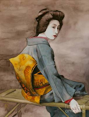 Painting - Hawaryu by Robert Hooper