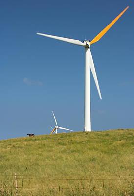 Photograph - Hawi Wind Farm  by Scott Rackers