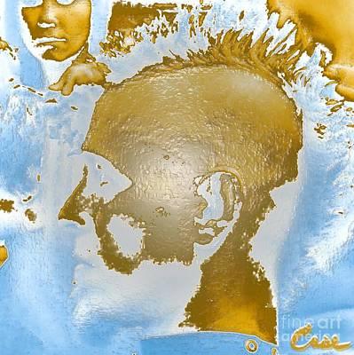 Hawk Cut Case - Self Portrait 12 2011 Gp2 Art Print