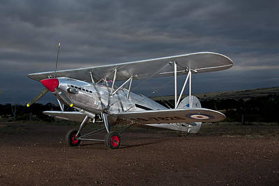 Fury Photograph - Hawker Fury by David Hibberd