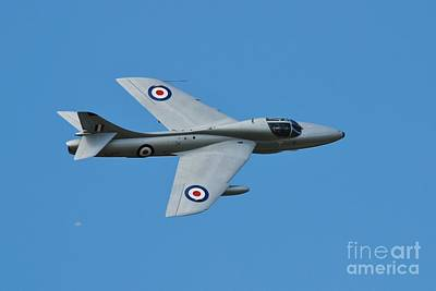 Photograph - Hawker Hunter Xl577 by David Fowler