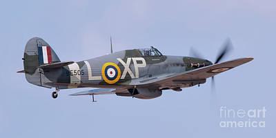 Ww11 Aircraft Photograph - Hawker Hurricane - Hurribomber by Steve H Clark Photography
