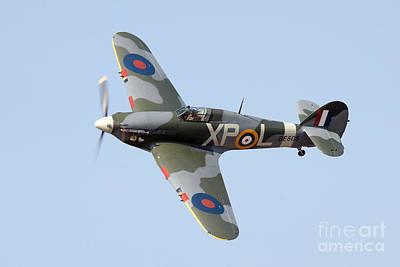 Ww11 Aircraft Photograph - Hawker Hurricane by Steve H Clark Photography