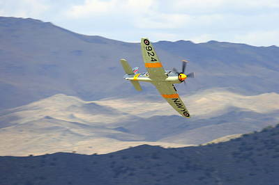 Hawker Sea Fury T Mk.20 At Reno Air Races Art Print