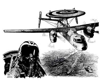 Hawkeye Art Print by Joseph Juvenal