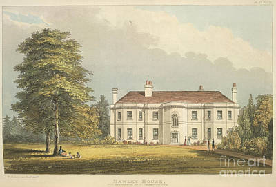Hawley House Art Print by British Library