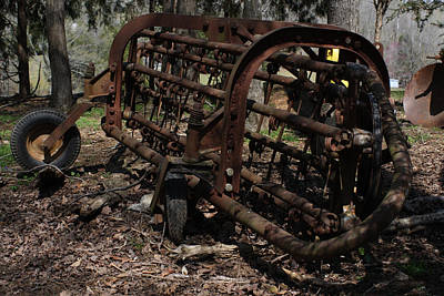 Photograph - Hay Baler by Lee Hartsell
