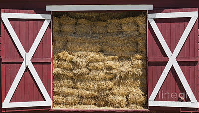 Photograph - Hay Barn by Alan L Graham