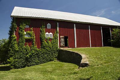 Barnstormer Photograph - Hay Barn by Guy Shultz