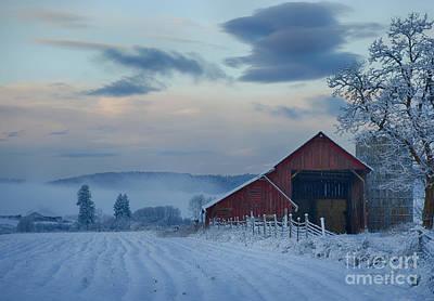Photograph - Hay Barn by Idaho Scenic Images Linda Lantzy