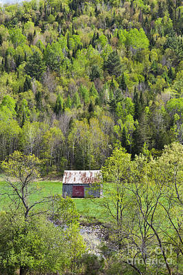 Photograph - Hay Barn In Spring by Alan L Graham