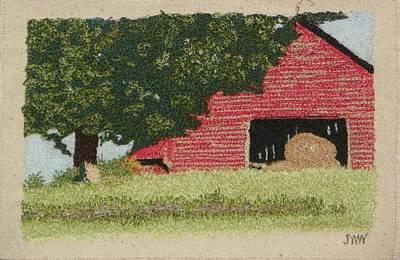 Hay Barn Art Print by Jenny Williams