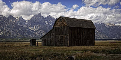 Photograph - Mormon Row Historic Barn by Sandra Selle Rodriguez