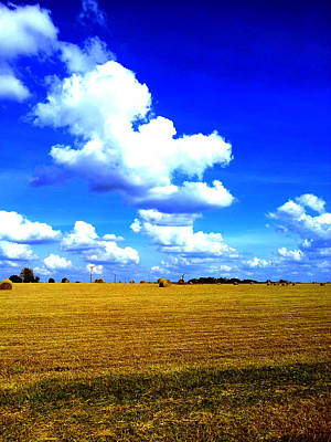 Photograph - Hay Clouds by John Jr Gholson