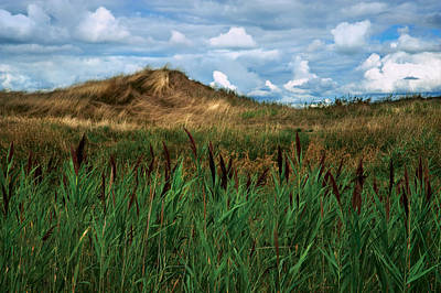 Hay Mound Art Print by Mike Feraco