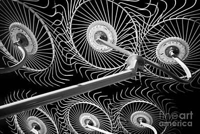 Machinery Photograph - Hay Rake by Bill  Robinson