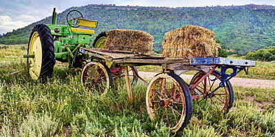 Photograph - Hay Ride Pan by Ken Smith