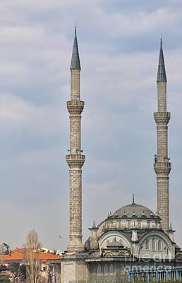 Haydarpasa Protokol Cami Mosque 02 Art Print by Antony McAulay