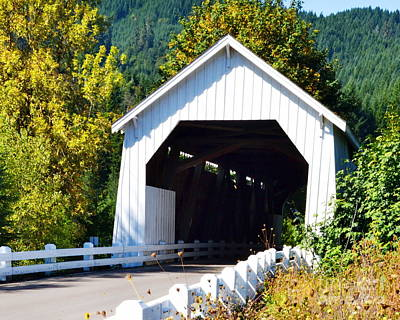 Hayden Covered Bridge Art Print
