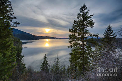 Photograph - Hayden Sunset by Idaho Scenic Images Linda Lantzy