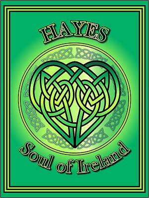 Hayes Digital Art - Hayes Soul Of Ireland by Ireland Calling