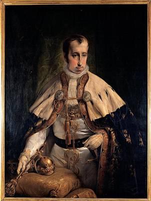 Hayez Francesco, Portrait Of Emperor Art Print by Everett